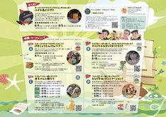 「愛知県芸術劇場 ファミリープログラム」チラシ裏