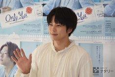 「Only You ~ぼくらのROMEO&JULIET~」囲み取材より、増田貴久。