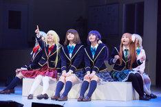 あにてれ×=LOVE ステージプロジェクト「ガールフレンド(仮)」より。