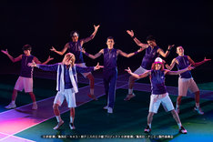 「ミュージカル『テニスの王子様』3rdシーズン 全国大会 青学vs氷帝」ゲネプロの様子。
