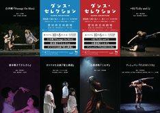 愛知県芸術劇場ミニセレ「ダンス・セレクション」チラシ表