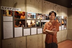 ロビー展示「ハイバイ展」の様子。(c)岩瀬亮
