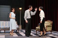 シス・カンパニー公演「出口なし」より。(撮影:宮川舞子)