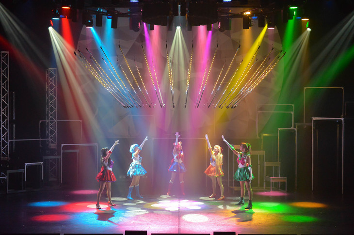 "「""Pretty Guardian Sailor Moon"" The Super Live」▼キャストのゲネプロより。"