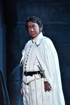 「オセロー」より。中村芝翫演じるオセロー。