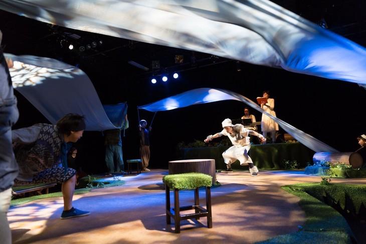 KAKUTA「ねこはしる」過去の上演より。(撮影:相川博昭)