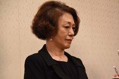 「浅利慶太 お別れの会」囲み取材より、加賀まりこ。