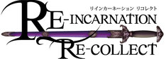 「RE-INCARNATION RE-COLLECT」ロゴ