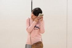 第17回AAF戯曲賞受賞記念公演「シティIII」稽古場より。西尾佳織。(撮影:前谷開)