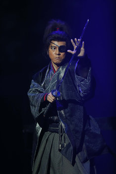 上川隆也演じる柳生十兵衛。