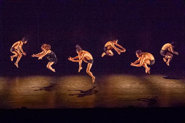 愛知県芸術劇場ミニセレ「ダンス・セレクション」より、ブッシュマン「FLESH CUB」の様子。(撮影:羽鳥直志)