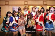 「少女☆歌劇 レヴュースタァライト -The LIVE-#2 Transition」の出演者。