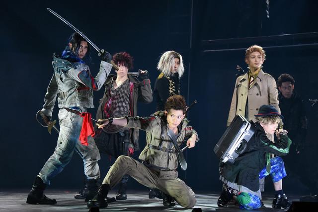 舞台「RE:VOLVER」公開ゲネプロより。