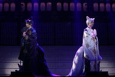 「2.5次元ダンスライブ『ツキウタ。』ステージ 第6幕『紅縁』」ゲネプロより。