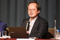 NHKエンタープライズの関山幹人エグゼティブ・プロデューサー。