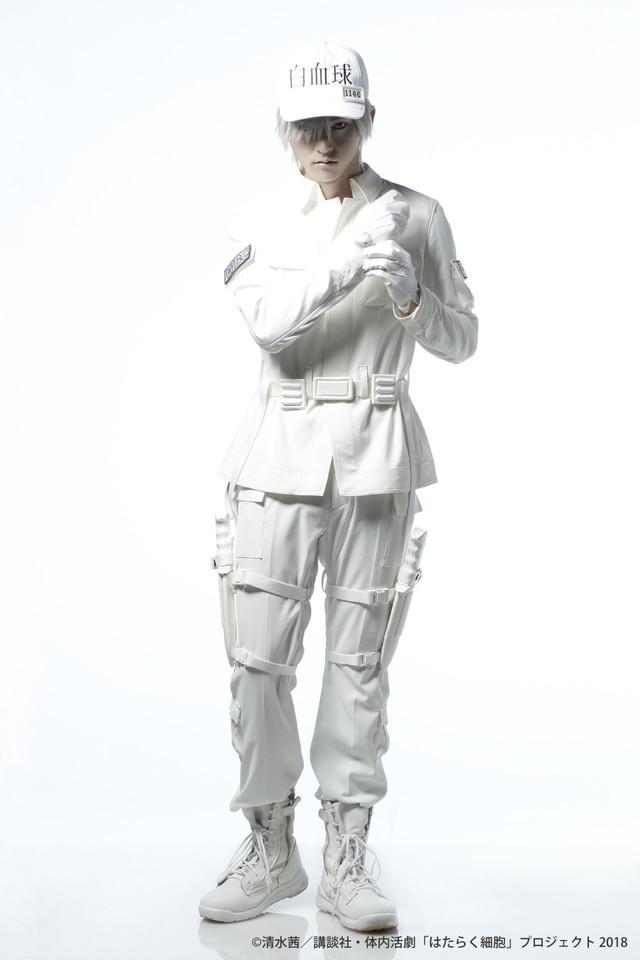 和田雅成扮する白血球(好中球)。