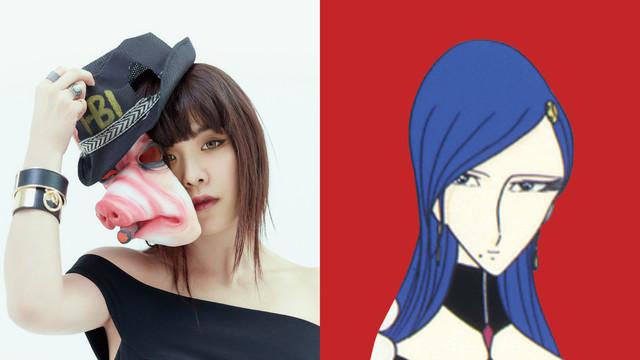左から矢沢洋子、リューズ。