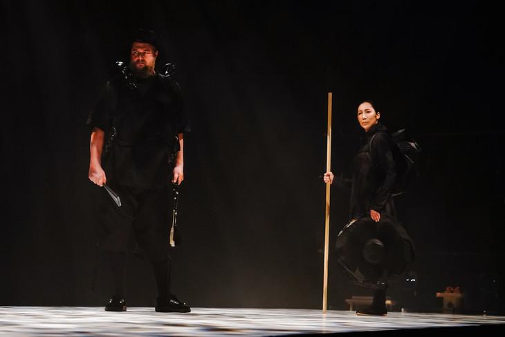 木ノ下歌舞伎「勧進帳」ジャポニスム2018-現代演劇シリーズ-より。(Photo:Yusuke KINAKA)