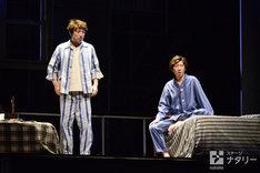 KAAT神奈川芸術劇場プロデュース「セールスマンの死」公開舞台稽古より。