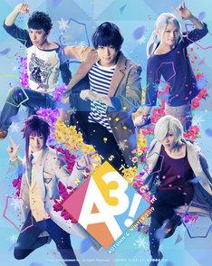 「MANKAI STAGE『A3!』~AUTUMN & WINTER 2019~」より、冬組のキービジュアル。