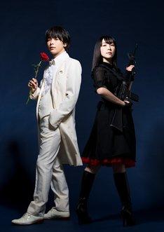 M&Oplays プロデュース「クラッシャー女中」ビジュアル。左から中村倫也、麻生久美子。