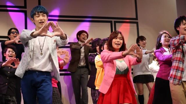 「ミュージカル・まいっちんぐマチコ先生~画業45周年だよマンガ道~」より。