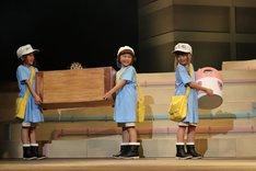 岸田結光、森田恵、木内彩音演じる血小板。