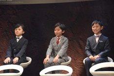 左から大前優樹、加藤憲史郎、熊谷俊輝。