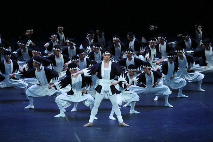 東京バレエ団「ザ・カブキ」過去公演より。(photo:Kiyonori Hasegawa)