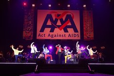 「Act Against AIDS 2018『THE VARIETY 26』~遂に!俳優だけの武道館ライブ!!…大丈夫なのか~~!?~」より。