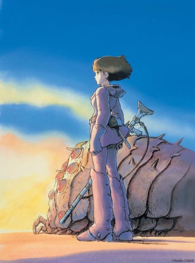 マンガ「風の谷のナウシカ」より。(c)Studio Ghibli
