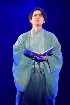 本格文學朗読演劇シリーズ第13弾 極上文學「こゝろ」より。(撮影:鏡田伸幸)