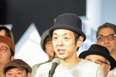 松尾スズキ+大人計画 30周年イベント「30祭(SANJUSSAI)」オープニングセレモニーの様子。宮藤官九郎。