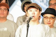 松尾スズキ+大人計画 30周年イベント「30祭(SANJUSSAI)」オープニングセレモニーの様子。阿部サダヲ。