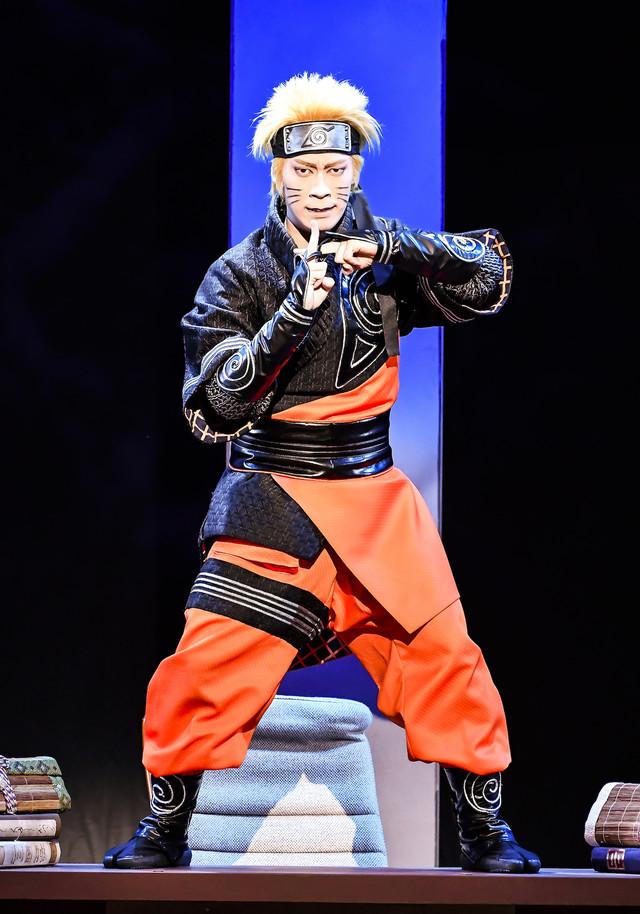 新作歌舞伎「NARUTO-ナルト-」より。