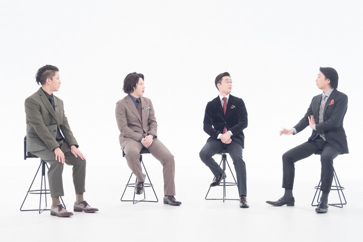 NHK Eテレ「新春眼福!花盛り~古典男子によるニッポン芸能今のカタチ~」より。(写真提供:NHK)