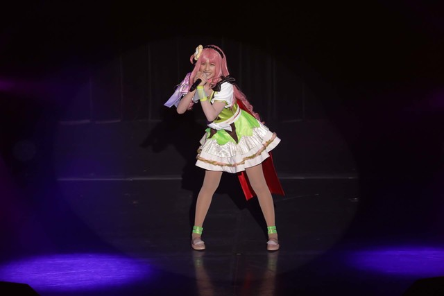 「アイ★チュウ ザ・ステージ 1st Fan Meeting」より。(Photo by mariafujio)