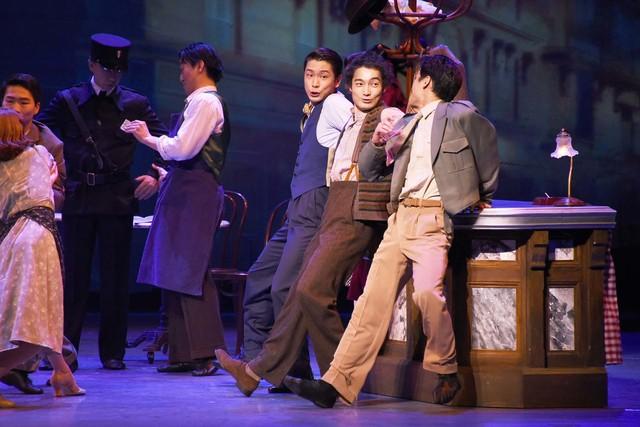 劇団四季 ミュージカル「パリのアメリカ人」舞台稽古より。
