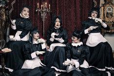 「キテレツメンタルワールド『東京ゲゲゲイ歌劇団 Vol.III』黒猫ホテル」ビジュアル