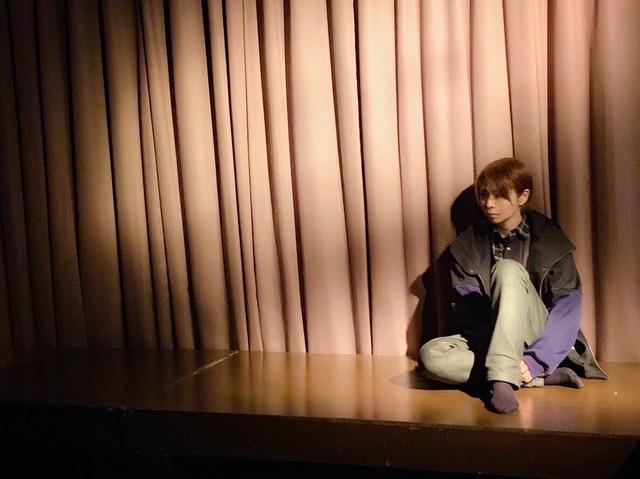 Ortensia 第四回公演「朝に死す」ビジュアル