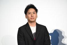 「八王子ゾンビーズ」DVD発売記念イベントより、山下健二郎(三代目 J SOUL BROTHERS from EXILE TRIBE)。