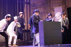 劇団番町ボーイズ☆×10神ACTORコラボ公演 スイーツボーイズ3rd「甘くはないぜ!3」ゲネプロより。