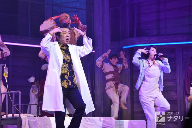 パルコ・プロデュース2019 音楽劇「マニアック」ゲネプロより。