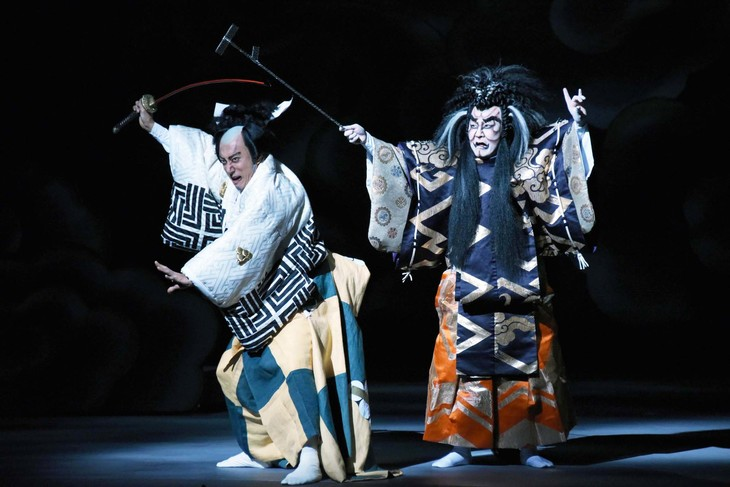 六本木歌舞伎 第3弾「羅生門」公開舞台稽古より。