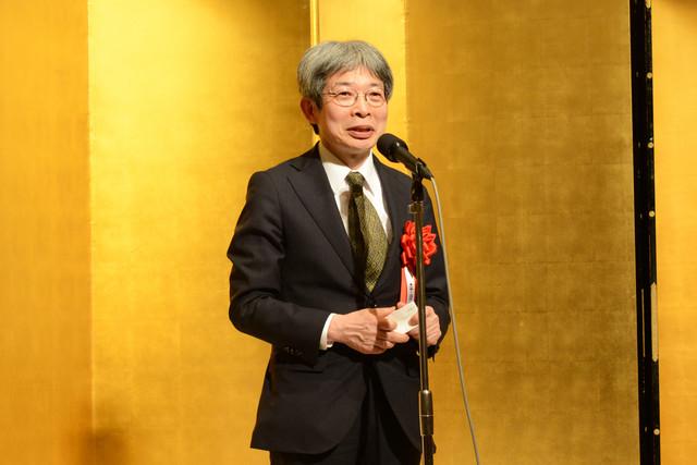 第22回光文三賞贈呈式より、平田オリザ。