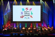 「Friends of Disney Concert 2018」より。Presentation licensed by Disney Concerts. (c)Disney