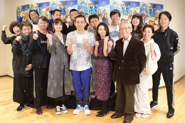 「めんたいぴりり~博多座版~未来永劫編」囲み取材より。