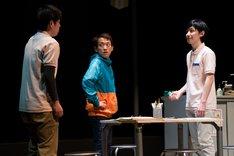 くちびるの会 第6弾公演「疾風のメ」より。(撮影:林亮太)