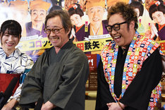 博多座開場20周年記念「武田鉄矢・コロッケ特別公演」囲み取材より。