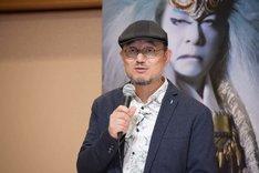 新作歌舞伎「NARUTO-ナルト-」製作発表より、G2。